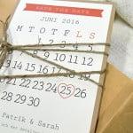 österlen vintage save the date kort