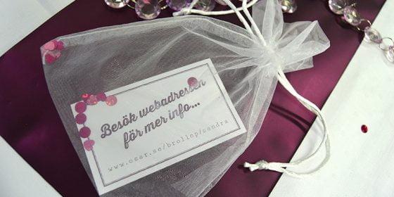Torekov bröllopsinbjudan in