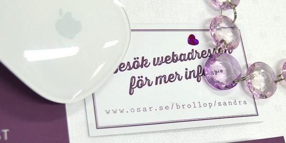 Torekov hemsida bröllop in