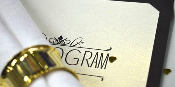Champagne Guld viselprogram in
