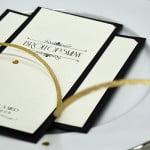 Champagne Guld Bröllopsdukning in
