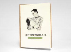 Österlen Vintage festprogram utsida
