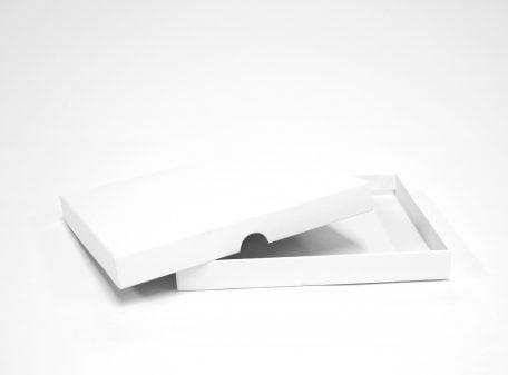 Bohuslän vit ask bröllopsinbjudan kartong