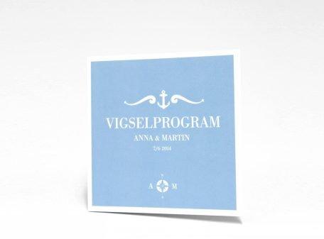 Bohuslän vigselprogram sid 1