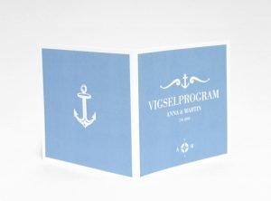 Bohuslän vigselprogram sid 1 och 4