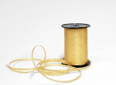 Champagne Guld glittrigt guld band
