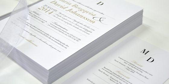 Vaxholm Bröllopsmenyer in