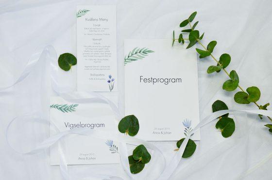 Vigselprogram-Festprogram-Ingarö