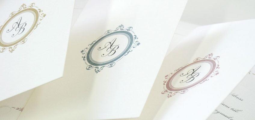 Bröllopskort-bröllop på slott
