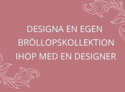 Gör eget bröllopskort med en designer