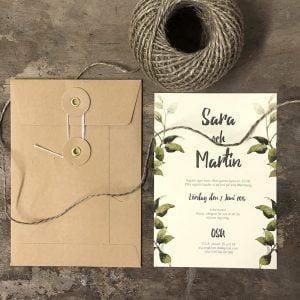 Bröllopsinbjudan-Göteborg-eko-med-snör-kuvert