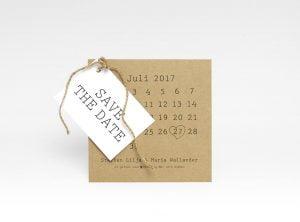 save the date kort visby eko