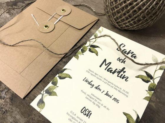 Tryck till bröllop-brollopsinbjudan-goteborg-eko-med-snodd-kuvert