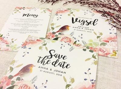 Duvemåla-boho-bröllop