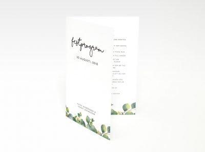 Eucalyptus bröllopskollektion