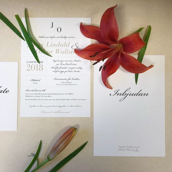 Vaxholm-bröllopstryck