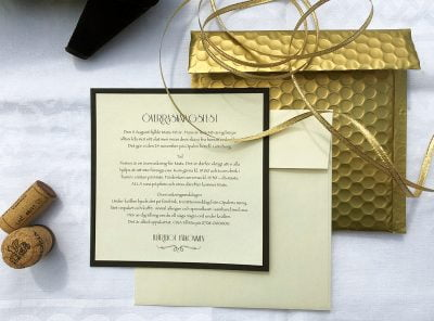 Festkollektion Champange guld exklusiv