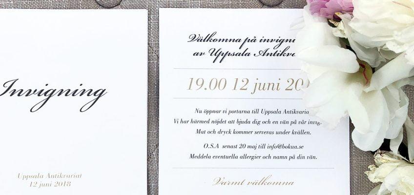 Inbjudan företagsfest