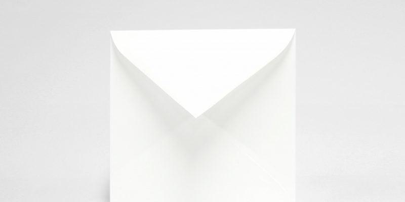Passar till format 145x145 mm kuvert vitt