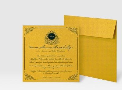 inbjudningskort-glittrigt-och-guldigt-med-guld-kuvert