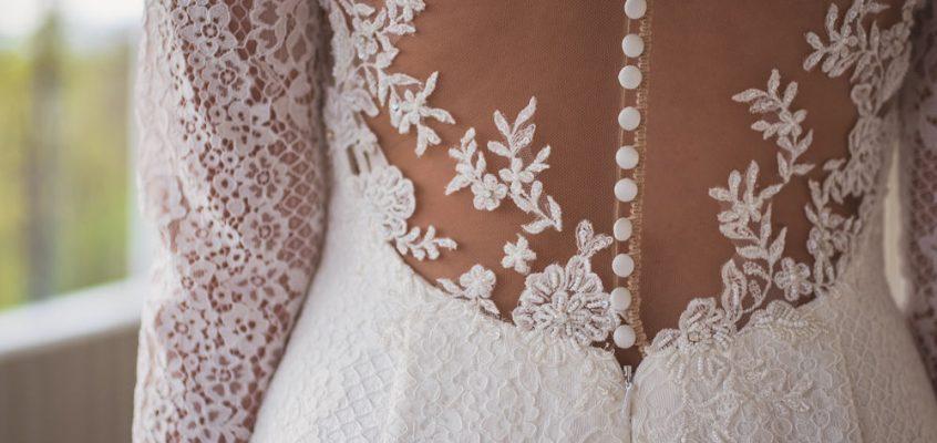 inspiration klänning rygg bröllop brud