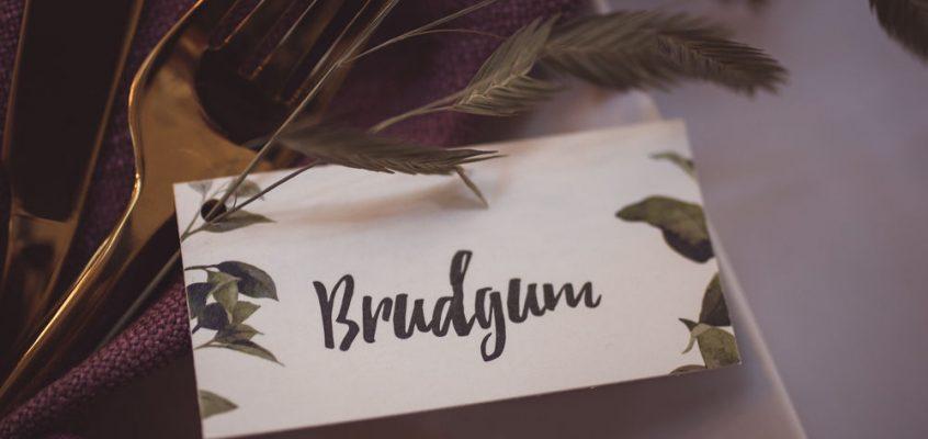 placeringskort bröllop inspiration