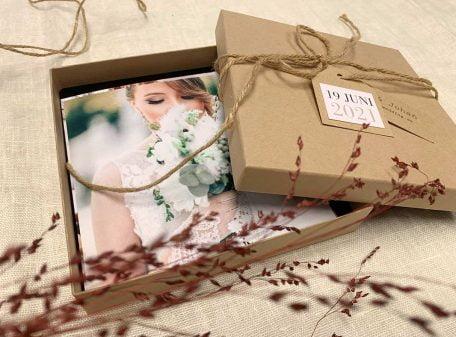 Fotobox med foton