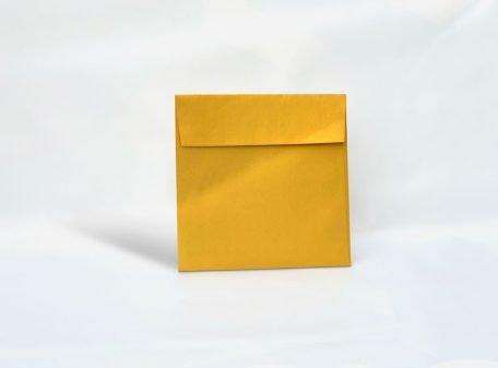Kuvert luxury gold 170x170mm