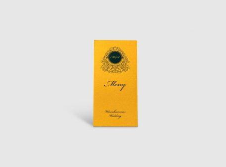 Meny Luxury Gold