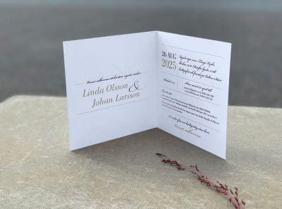 Inbjudningskort Vaxholm